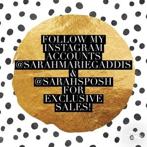 ✨Follow my IG's for Sales, Offers, & Exclusives✨